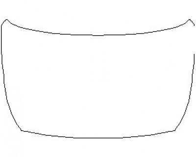 2021 KIA NIRO EV EX PREMIUM FULL HOOD KIT (WRAPPED EDGES)
