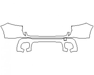 2021 MERCEDES GLB AMG LINE REAR BUMPER KIT