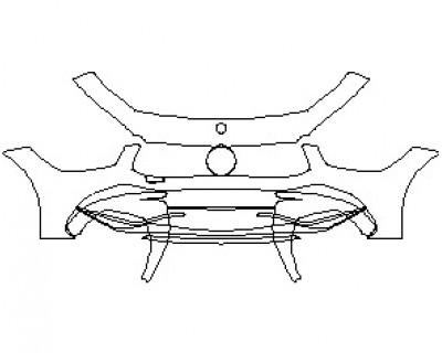 2021 MERCEDES AMG GT 63 4 DOOR COUPE BUMPER KIT