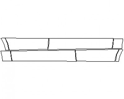 2021 MERCEDES ML CLASS 350 ROCKER PANELS
