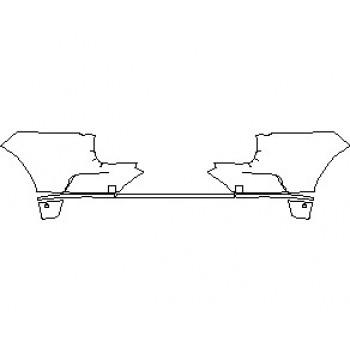 2021 JAGUAR I-PACE S REAR BUMPER KIT