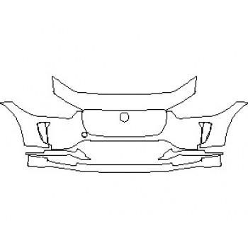 2021 JAGUAR I-PACE S BUMPER KIT
