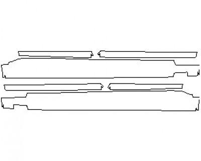 2020 BMW X7 M-SPORT ROCKER PANELS