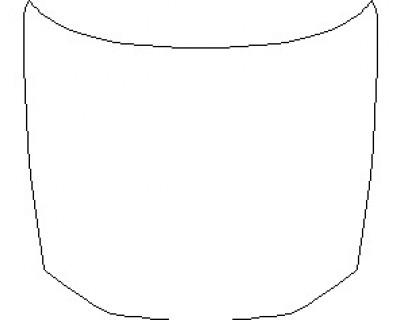 2021 AUDI RS6 HOOD KIT (18 INCH)