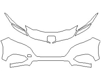 2021 HONDA HR-V LX BUMPER KIT