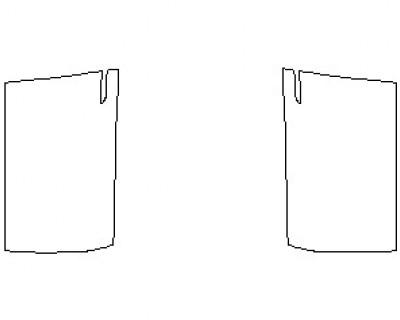 2021 TESLA MODEL X DOORS FRONT