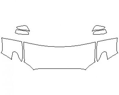 2021 TOYOTA TACOMA SR5 ACCESS CAB ROCKER PANELS LONG BED