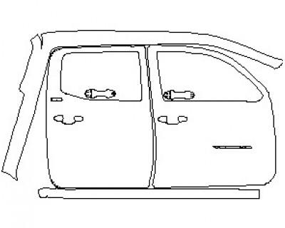 2021 TOYOTA TACOMA SR5 ACCESS CAB HOOD KIT