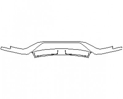 2020 FORD GT LOWER BUMPER KIT
