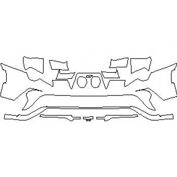 2021 FORD GT REAR BUMPER KIT
