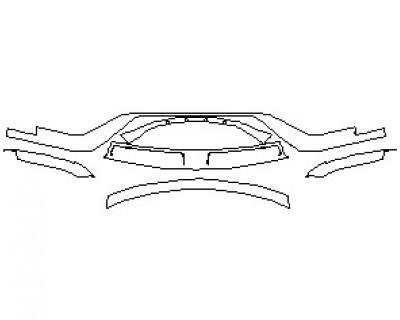 2022 FORD GT LOWER BUMPER KIT