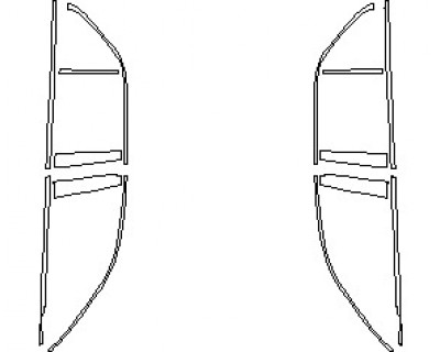 2021 MERCEDES GLE CLASS AMG 53 SUV WINDOW TRIM