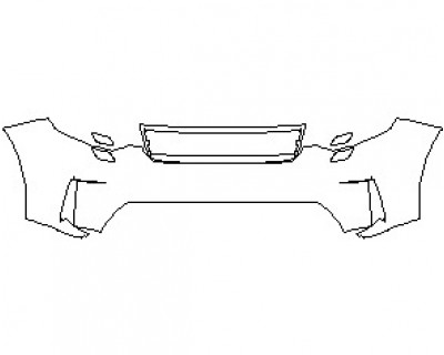 2021 LAND ROVER DISCOVERY SE BUMPER KIT WITH WASHERS