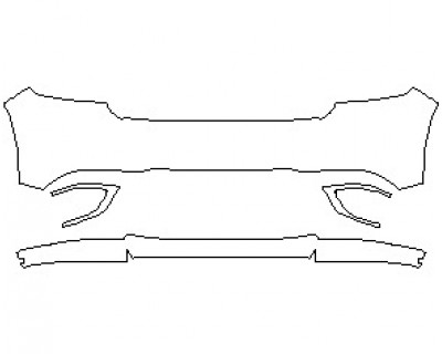 2021 DODGE DURANGO LIMITED BUMPER KIT