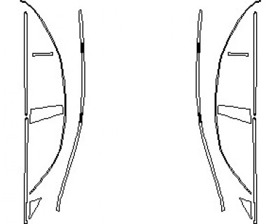 2021 MERCEDES CLS CLASS AMG LINE WINDOW TRIM