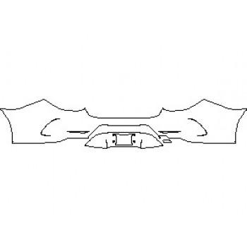 2021 MERCEDES CLS CLASS 450 BUMPER KIT REAR