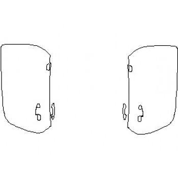 2021 MERCEDES AMG GT C COUPE DOORS