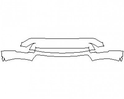2021 LAND ROVER DISCOVERY LANDMARK EDITION LOWER BUMPER KIT