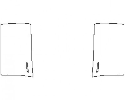 2021 TESLA MODEL 3 DOORS FRONT