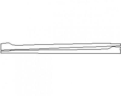 2021 HYUNDAI ELANTRA GT N LINE ROCKER PANELS