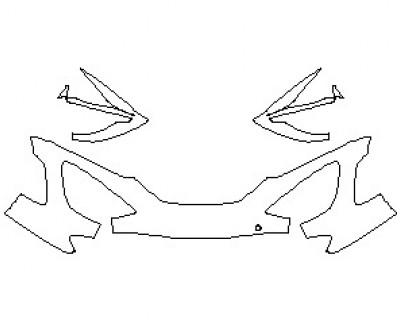 2021 MCLAREN 720S PERFORMANCE SPIDER BUMPER KIT