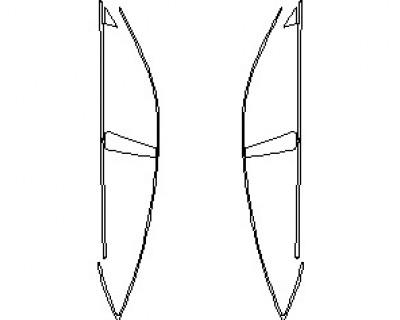 2021 AUDI S7 PRESTIGE WINDOW TRIM