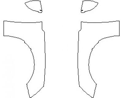 2021 AUDI S5 PREMIUM CABRIOLET FULL HOOD KIT (WRAPPED EDGES)