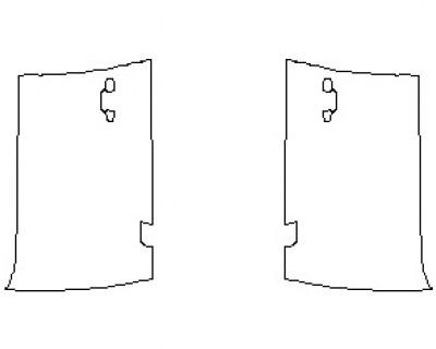 2020 AUDI SQ7  DOORS FRONT