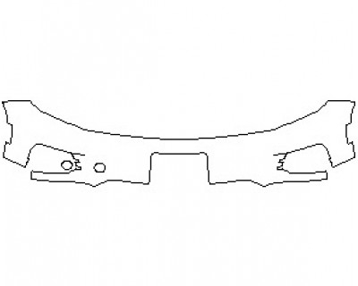 2021 VOLKSWAGEN TIGUAN LIMITED BUMPER KIT WITH LICENSE PLATE BRACKET