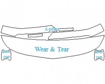 2021 MERCEDES AMG GT R COUPE WEAR & TEAR