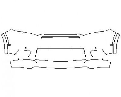 2021 DODGE DURANGO GT BUMPER KIT WITH SENSORS