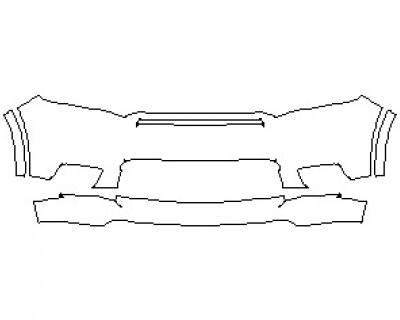 2021 DODGE DURANGO GT BUMPER KIT