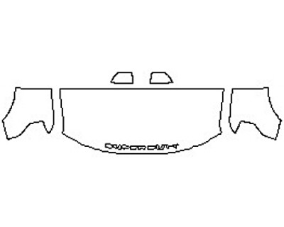 2020 FORD F-350 SUPER DUTY XL Hood(30 Inch) Fenders Mirrors