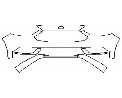 2020 FORD FUSION HYBRID PLATINUM Bumper