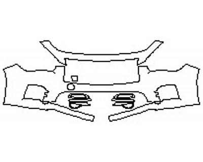 2017 INFINITI Q50 RED SPORT 400 Bumper (2 Piece)