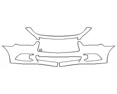 2017 INFINITI QX60 3.5 AWD Bumper