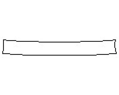 2017 INFINITI QX60 3.5 AWD Rear Bumper Deck