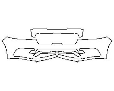 2017 LINCOLN CONTINENTAL SELECT 200A Bumper