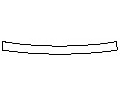 2018 LINCOLN MKZ RESERVE 300A Rear Bumper Deck