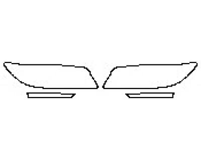 2020 LINCOLN MKZ RESERVE 300A Headlights Running Lights