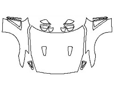 2020 NISSAN GT-R PREMIUM Full Hood Fenders Mirrors
