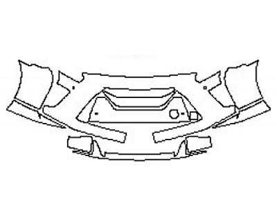 2020 NISSAN GT-R PREMIUM Bumper With Sensors