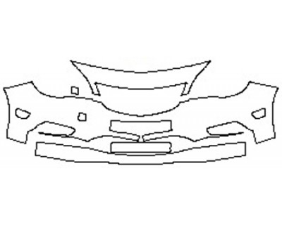 2019 BUICK CASCADA BASE Bumper (4 piece)