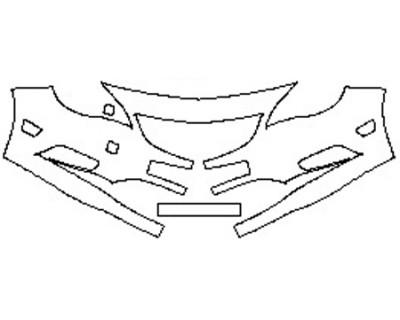 2019 BUICK CASCADA BASE Bumper (2 piece)