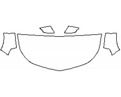 2017 CHEVROLET MALIBU HYBRID Hood(30 Inch) Fenders Mirrors