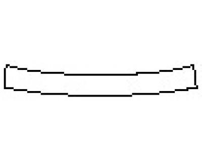 2017 CHEVROLET MALIBU HYBRID Rear Bumper Deck