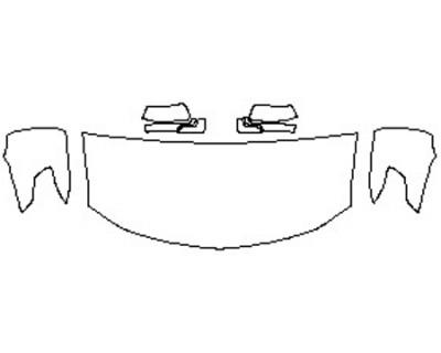 2020 CHEVROLET TAHOE PREMIER Hood(30 Inch) Fenders Mirrors