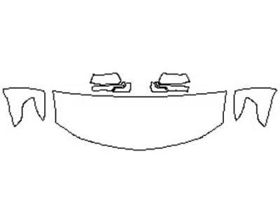 2020 CHEVROLET TAHOE PREMIER Hood(24 Inch) Fenders Mirrors