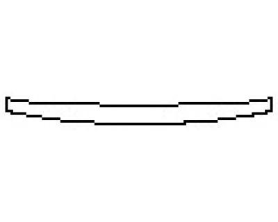 2017 CHRYSLER 200 TOURING Rear Bumper Deck