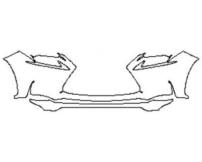 2017 LEXUS NX TURBO F-SPORT Bumper (2 Piece)